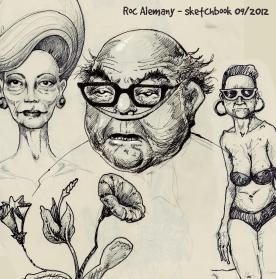Summer Drawings 2012